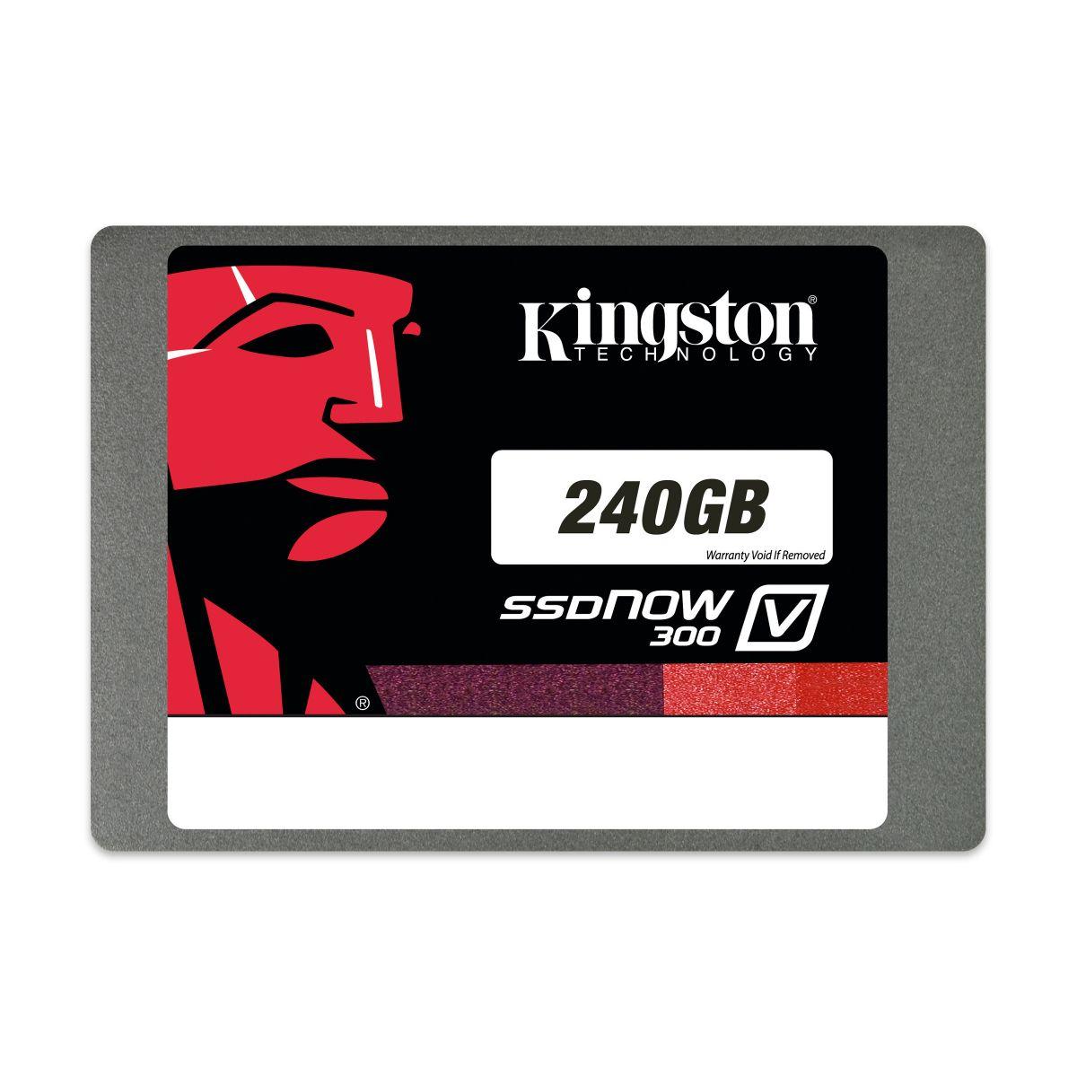 HD Kingston SSD 240 GB 2,5´ SATA III - SV300S37A/240G - PC FLORIPA