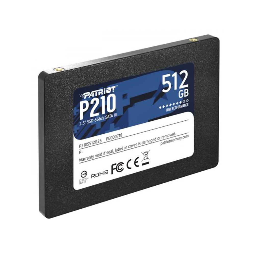 SSD Patriot 512GB 2,5´ SATA III - P210S512G25 - PC FLORIPA