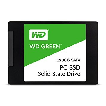 HD Western Digital SSD 120 GB 2,5´ SATA III - WDS120G1G0A - PC FLORIPA