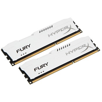 Kit Memória 16GB HyperX Fury Azul Kingston (2x8) DDR3 1866 - HX318C10FWK2/16 - PC FLORIPA