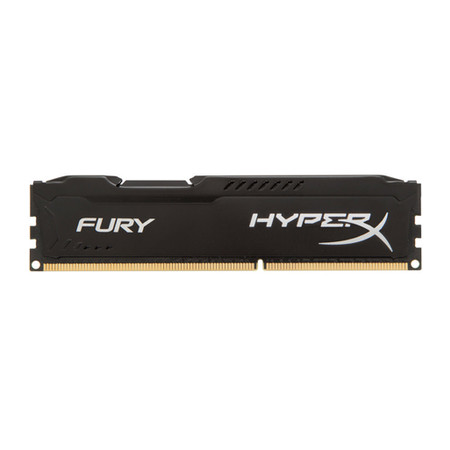 Memória 4 GB DDR3 1600 Kingston - HyperX Fury Preto - HX316C10FB/4 - PC FLORIPA