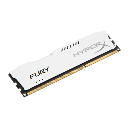 Memória 4 GB DDR3 1866 Kingston - HyperX Fury Branca - HX318C10FW/4 - PC FLORIPA