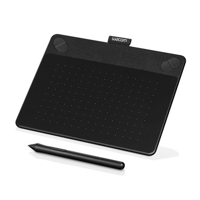 Mesa Digitalizadora Wacom Intuos  Pen and Touch Comic Black - PC FLORIPA