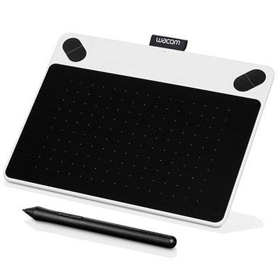 Mesa Digitalizadora Wacom Intuos  Pen Dwan Fun White - PC FLORIPA
