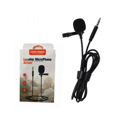 Microfone Lapela P/ Computador HSX-M01 - PC FLORIPA