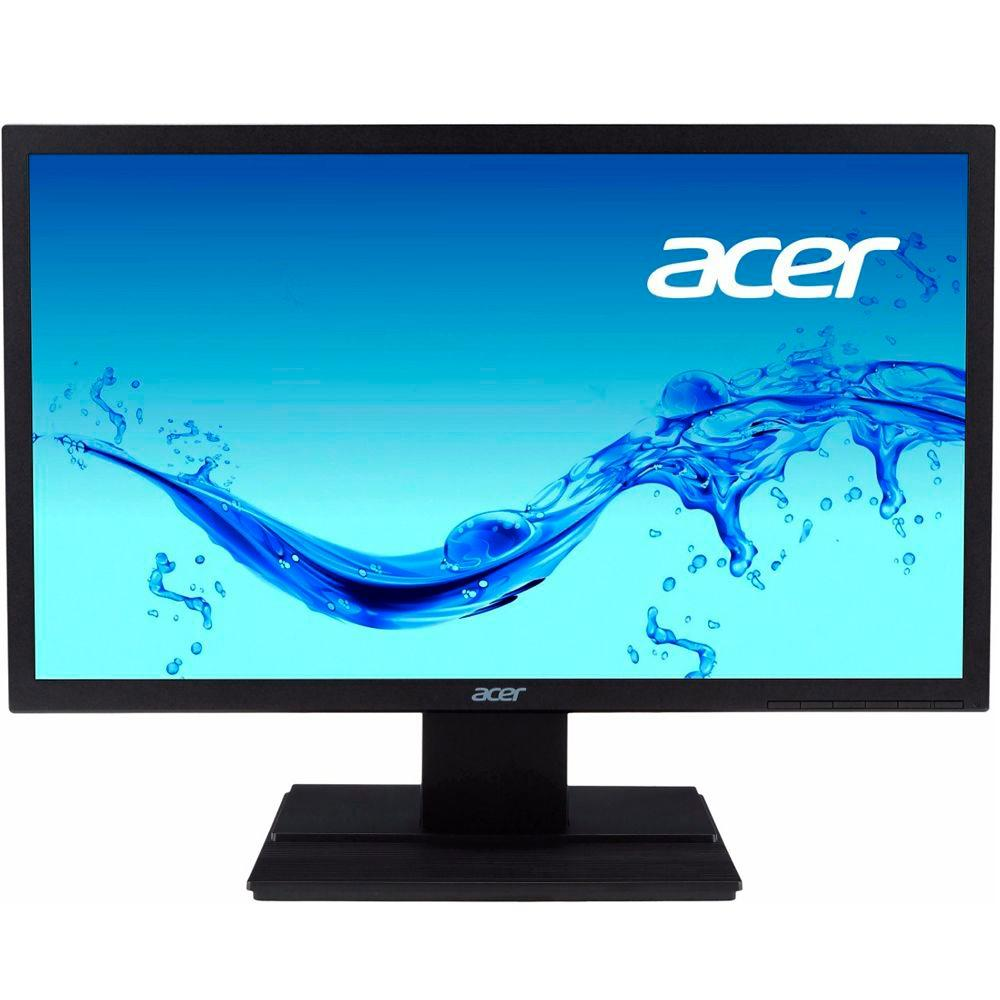 Monitor Acer 19,5 LED V206HQL Widescreen - VGA - HDMI - PC FLORIPA
