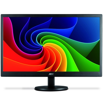 Monitor AOC 23,6 LED M2470SWD Widescreen - DVI - VGA - PC FLORIPA