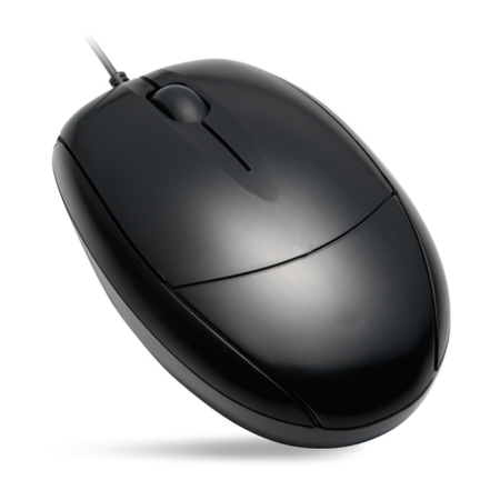 Mouse K-MEX MOK-133US USB Preto - PC FLORIPA