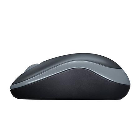 Mouse Logitech M185 Sem Fio Cinza - PC FLORIPA