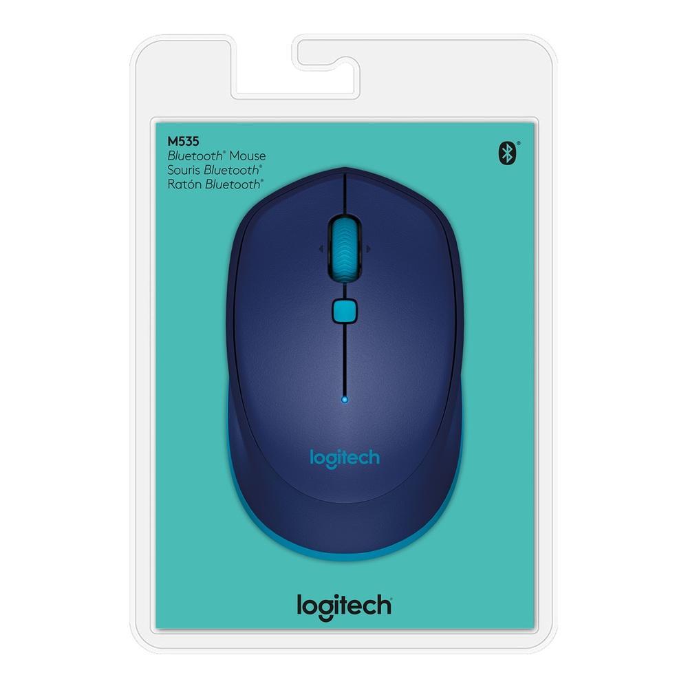 Mouse Logitech M535 Bluetooth 1000DPI - 910-004529 - PC FLORIPA