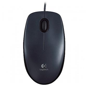 Mouse Logitech M90 Preto USB - PC FLORIPA