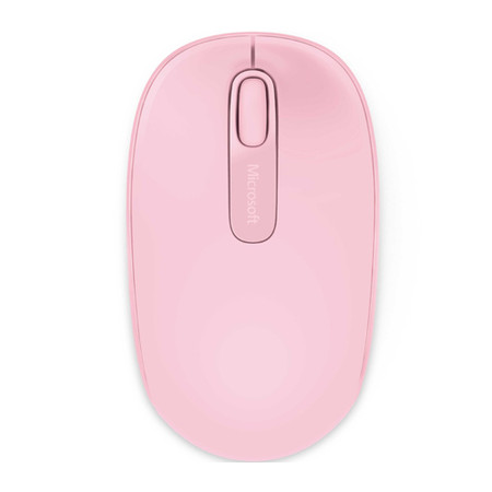 Mouse Microsoft Optical Mobile 1850 Wireless Light Rosa - PC FLORIPA