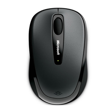 Mouse Microsoft Optical Notebook 3500 Wireless Mobile Cinza - PC FLORIPA