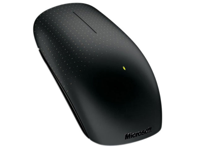 Mouse Microsoft Optical Touch Wireless Preto - PC FLORIPA