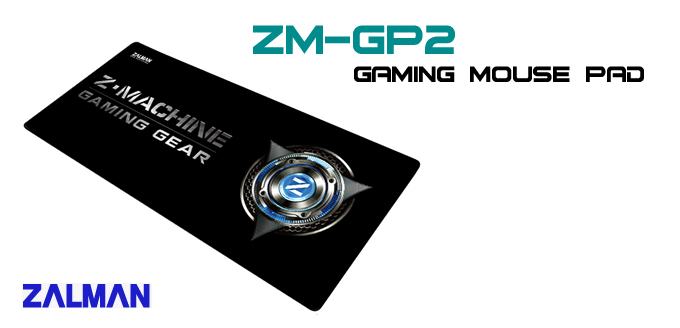 Mouse Pad Zalman ZM-GP2 Gaming Grande 75x35 - PC FLORIPA