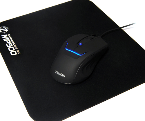 Mouse Zalman Gaming ZM-M350 2000DPI 4000FPS C/ Mouse Pad - PC FLORIPA