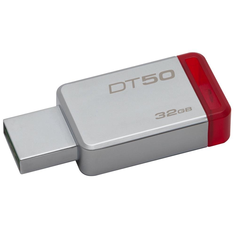 Pen Drive Kingston 32 GB  USB 3.1 DT50 - PC FLORIPA