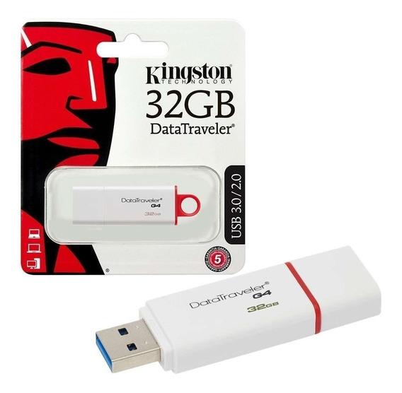 Pendrive Kingston 32GB USB 3.1 DTI G4 - PC FLORIPA