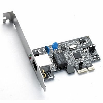 Placa de Rede PCI-E 10/100/1000 Mbps - PC FLORIPA