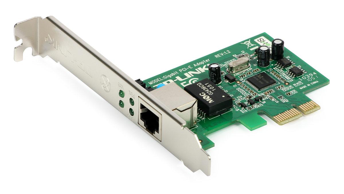 Placa de Rede PCI-E 10/100/1000 Mbps TP-Link TG-3468 - PC FLORIPA