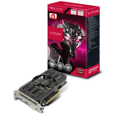 Placa de Vídeo 2GB PCI-E ATI Radeon R7 360 - 128-Bit - PC FLORIPA