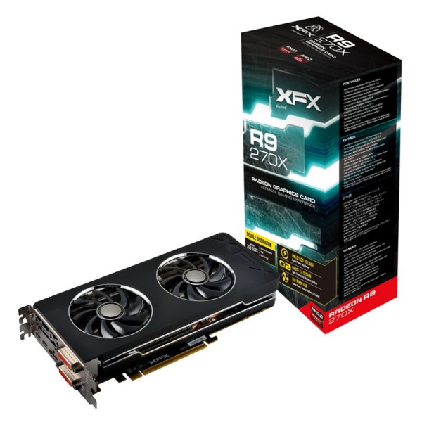 Placa de Vídeo 2GB PCI-E ATI Radeon R9 270X - 128-Bit - PC FLORIPA