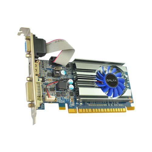 Placa de Vídeo 2GB PCI-E GF GT710 - 64-Bit - PC FLORIPA