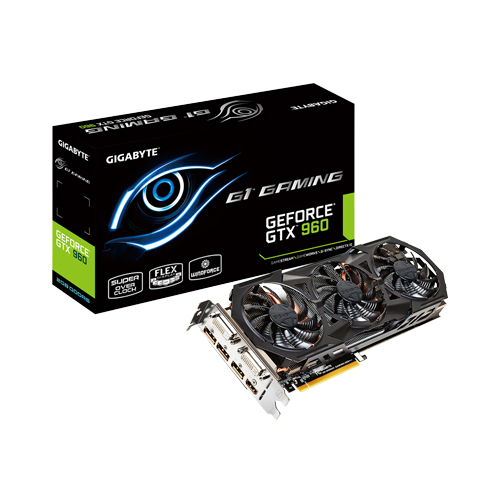 Placa de Vídeo 2GB PCI-E Nvidia Geforce GTX960 - 128-Bit - PC FLORIPA
