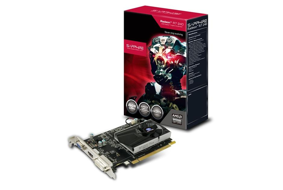 Placa de Vídeo 4GB PCI-E ATI Radeon R7 240 - 128-Bit - PC FLORIPA