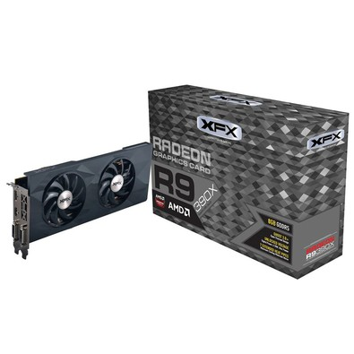 Placa de Vídeo 4GB PCI-E ATI Radeon R9 390X - 256-Bit - PC FLORIPA