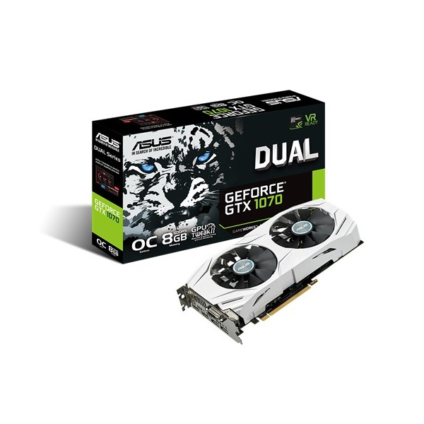 Placa de Vídeo 8GB PCI-E Nvidia Geforce GTX1070 - 256-Bit - PC FLORIPA