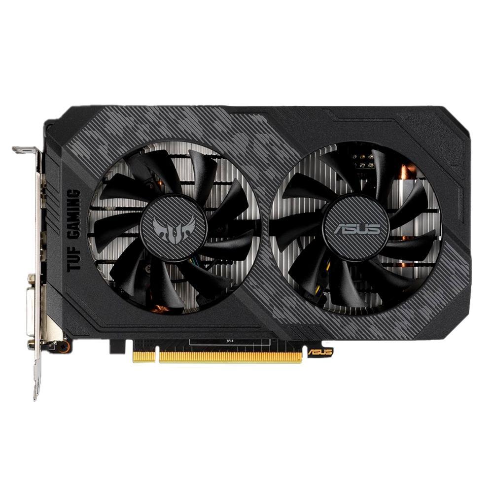 Placa de Vídeo ASUS TUF Gaming GeForce® GTX 1650 OC Edition 4GB GDDR6 TUF-GTX1650-O4GD6-P-GAMING - PC FLORIPA