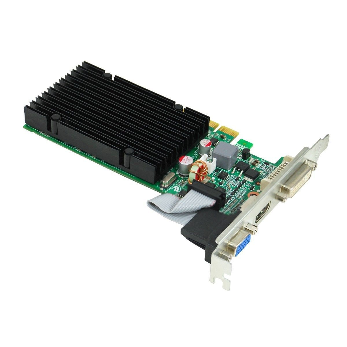 Placa de Vídeo EVGA NVIDIA GeForce GT 210 1GB, DDR3 - 01G-P3-1313-KR - PC FLORIPA