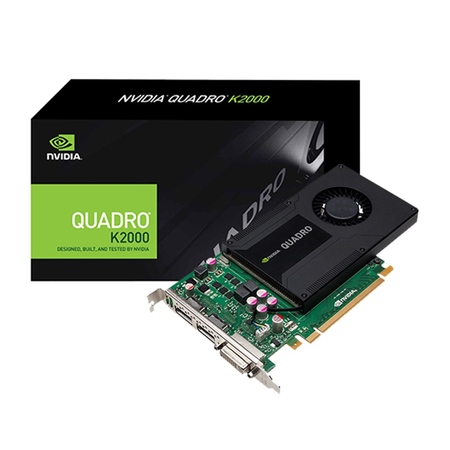 Placa de Vídeo PNY Quadro K2000 2GB - 128-Bit - PC FLORIPA