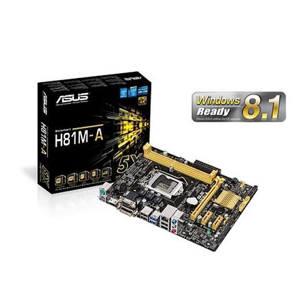 Placa Mãe 1150 Asus H81M-A - PC FLORIPA
