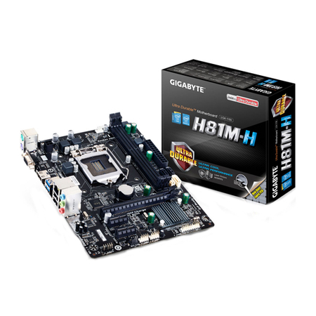 Placa Mãe 1150 Gigabyte GA-H81M-H - PC FLORIPA