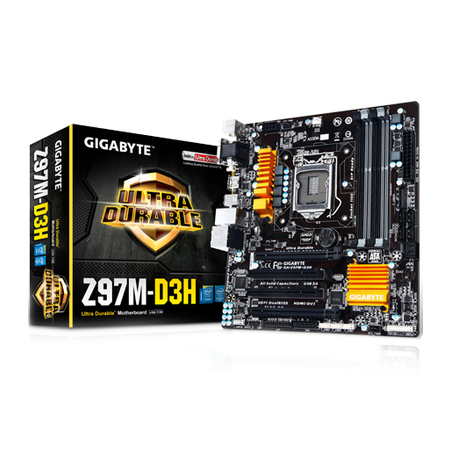 Placa Mãe 1150 Gigabyte GA-Z97M-D3H - PC FLORIPA