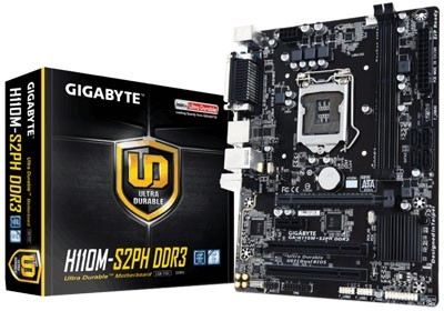 Placa Mãe 1151 Gigabyte GA-H110M-S2PH- DDR4 - USB 3.0 - PC FLORIPA