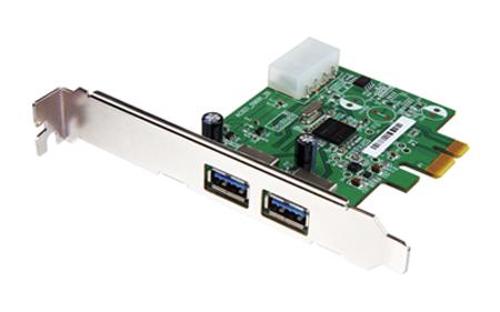 Placa PCI-E USB 3.0 - 2 Portas - PC FLORIPA