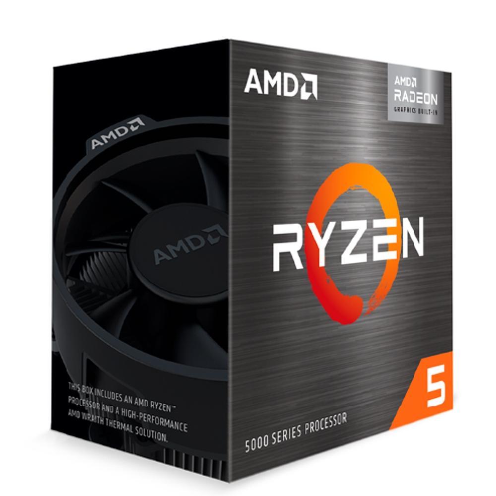 Processador AMD Ryzen 5 5600G Cache 19MB 3.9GHz (4.4GHz Max Boost) AM4 100-100000252BOX - PC FLORIPA