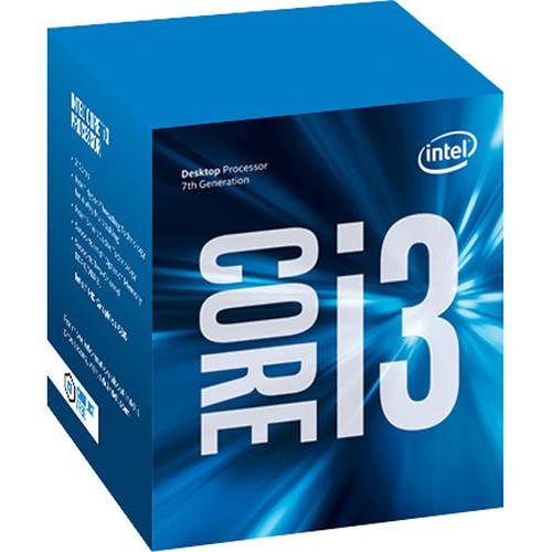 Processador Intel 1151 Core i3 7100 - 3.90GHz - 3MB - 7º Geração - KABYLAKE - Intel HD Graphics   - BX80677I37100 - PC FLORIPA