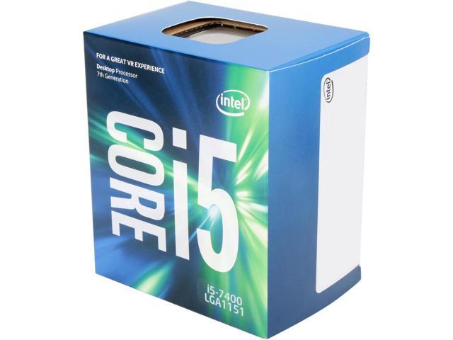 Processador Intel 1151 Core i5 7400 - 3.00GHz - 6MB - 7º Geração - KABYLAKE - Intel HD Graphics   - BX80677I57400 - PC FLORIPA
