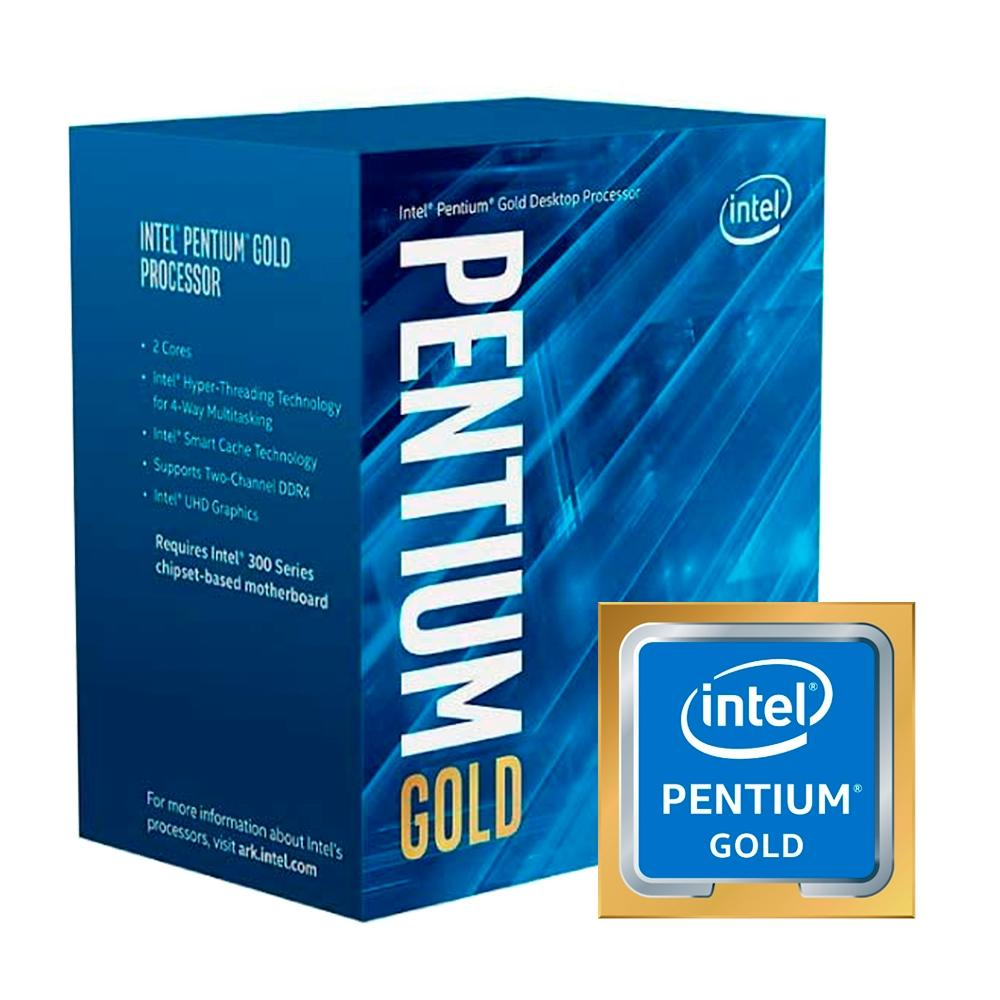 Processador Intel Pentium Gold G5420, Cache 4M, 3.80 GHz, LGA1151, Intel UHD Graphics 610, 2 Núcleos - BX80684G5420 - PC FLORIPA