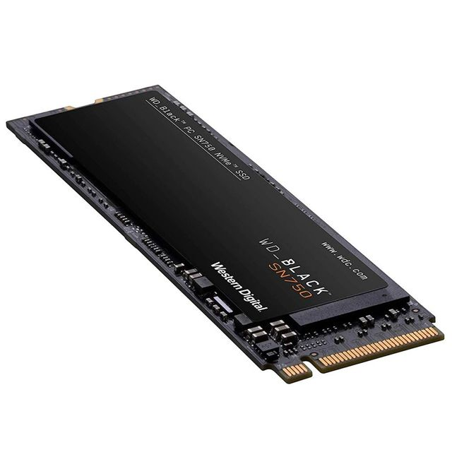 SSD WD Black SN750 500GB M.2 NVMe WDS500G3X0C - PC FLORIPA