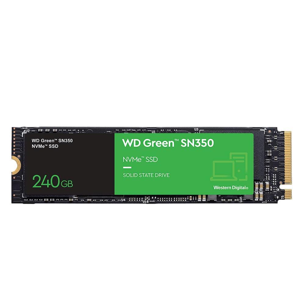 SSD WD Green SN350 240GB M.2 NVMe WDS240G2G0C - PC FLORIPA