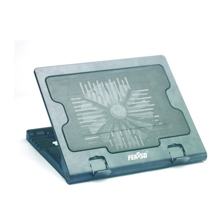 Suporte P/ Notebook Feasso FN-720 C/ Cooler e Elevação - PC FLORIPA