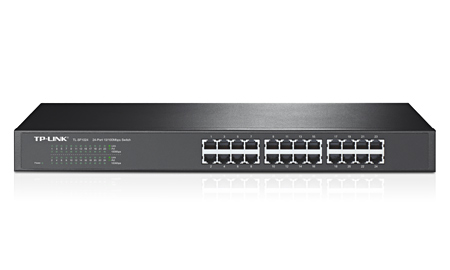 Switch 24 portasTP-Link 10/100 Switch - TL-SF1024 - PC FLORIPA