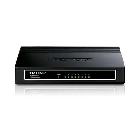 Switch 8 portas TP-Link 10/100/1000 Switch TL-SG1008D - PC FLORIPA