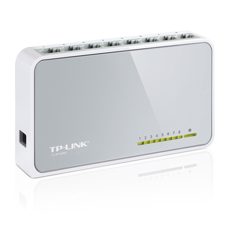Switch 8 portasTP-Link 10/100 Switch - TL-SF1008D - PC FLORIPA