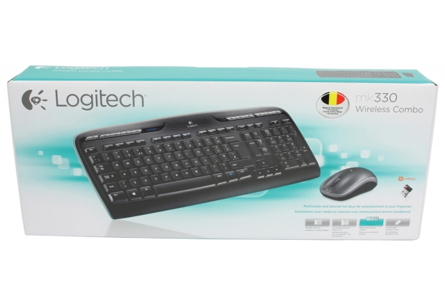 Teclado Logitech e Mouse Sem Fio MK330 - PC FLORIPA